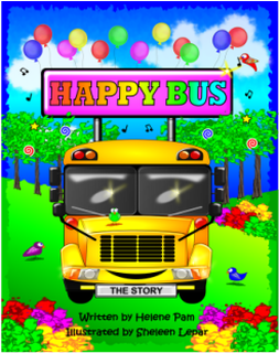 Happy Bus: A Children's Story available on Amazon